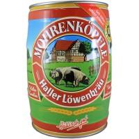 Fut 5L  Haller Löwenbräu Mohrenköpfle