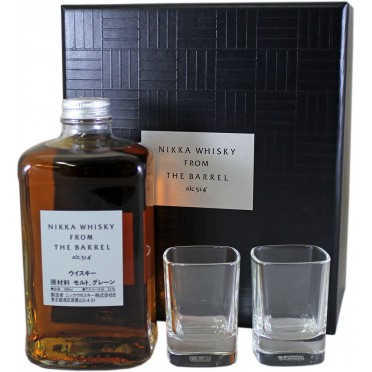 coffret Nikka Whisky From The Barrel
