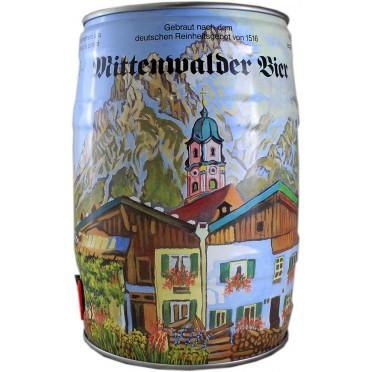 Fut 5L bière Mittenwalder Winter
