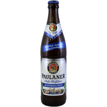 Canette Paulaner Hefe Weissbier sans alcool 50cl
