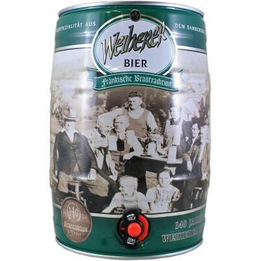 Fut 5L bière Weiherer Kellerbier