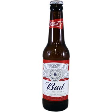 Bouteille bud 33cl
