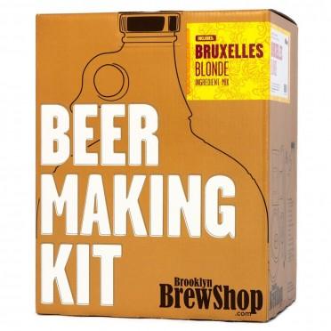 Kit de brassage Brooklyn Brewshop - Bruxelles Blonde
