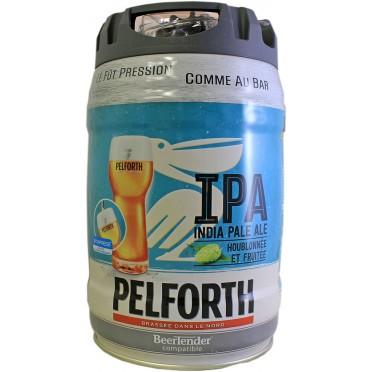 Fût 5L Beertender Pelforth IPA