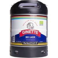 Fût bière Perfectdraft 6L Ginette Bio Lager