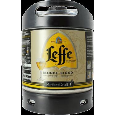 Fût 6L Leffe Blonde Perfectdraft