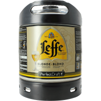 Fût bière Perfectdraft  6L Leffe Blonde
