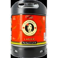 Fût bière Perfectdraft 6L La Virgen Lager