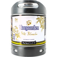 Fût bière Perfectdraft 6L Hoegaarden Blanche