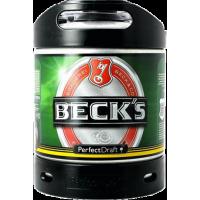 Fût bière Perfectdraft 6L Beck's