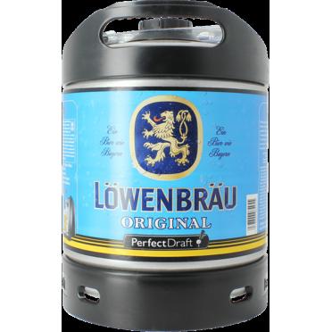 Fût 6L Löwenbräu Perfectdraft