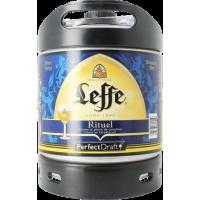 Fût bière Perfectdraft 6L Leffe Rituel 9°