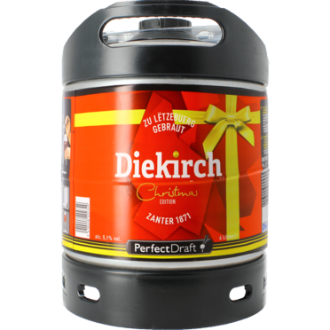 Fût 6L Diekirch De Noël Perfectdraft