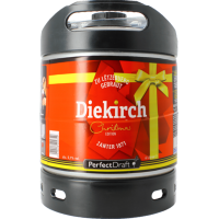 Fût Bière Perfectdraft 6L Diekirch Christmas