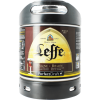 Fût bière Perfectdraft 6L Leffe Brune