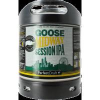 Fût bière Perfectdraft 6L Goose Midway Session IPA