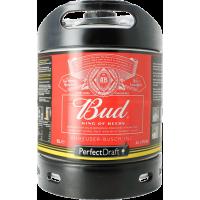 Fût bière Perfectdraft 6L Budweiser