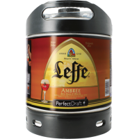 Fut bière Perfectdraft  6L Leffe Ambrée
