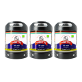 Pack 3 fûts Perfectdraft Ginette Bio Lager 0