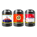 Pack découverte 3 fûts Perfectdraft Ginette Bio Lager - Virgen Lager - Hoegaarden Rosée 0