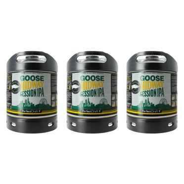 Pack 3 fûts Perfectdraft Goose Midway Session IPA