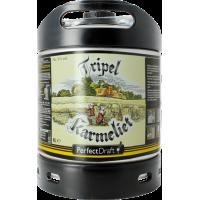 Fût bière Perfectdraft 6L Tripel Karmeliet