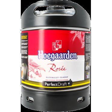 Fût 6L Hoegaarden Rosée Perfectdraft