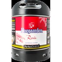 Fût bière Perfectdraft 6L Hoegaarden Rosée