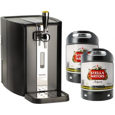 Pack Tireuse Perfectdraft + 2 fûts Stella Artois