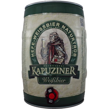 Fut 5 litres Kapuziner