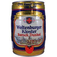 Fut 5L Weltenburger Kloster Barock Dunkel