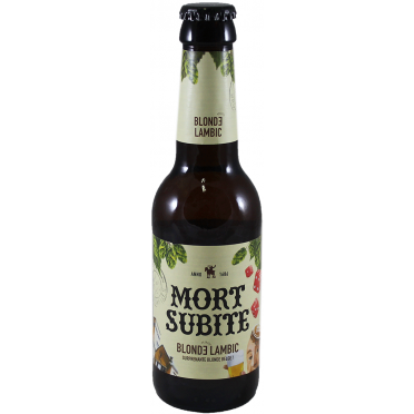 Mort subite blonde 25cl