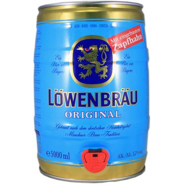 Fût 5L Löwenbräu
