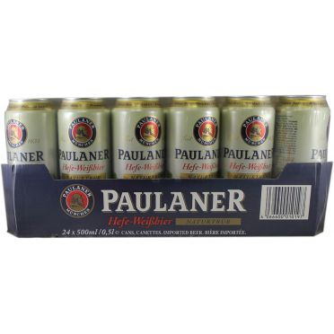 Pack 24 Canettes Paulaner 50cl
