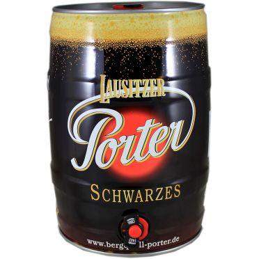 Fût 5L Lausitzer Porter Schwarzes