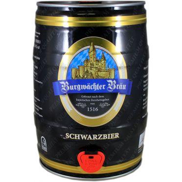 Fût 5L Burgmächter Bräu schwarzbier