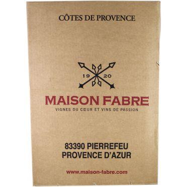 Vin rouge -Côte de Provence - Les Hauts de Masterel 2012