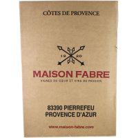 Carton 6 bouteilles rouge - Côte de Provence AOP
