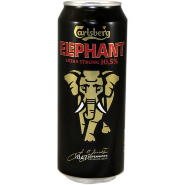 Canette Carlsberg Elephant extra strong 50cl