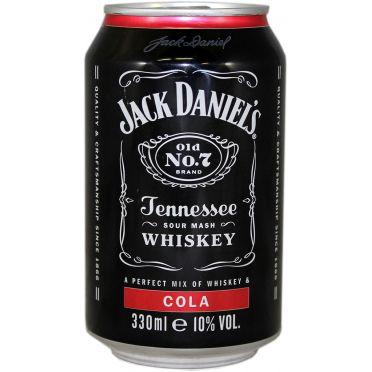 Canette Jack Daniel's Cola 33cl