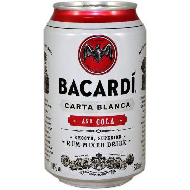 Canette Bacardi Cola 33cl